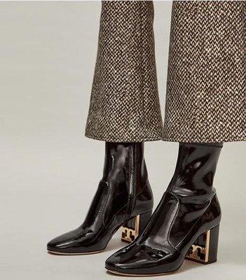 【全新正貨私家珍藏】 TORY BURCH GIGI STRETCH PATENT LEATHER BOOTIE 短靴
