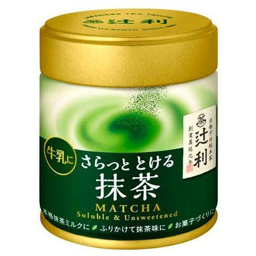 日本製~京都辻利 即溶抹茶粉罐裝 40g