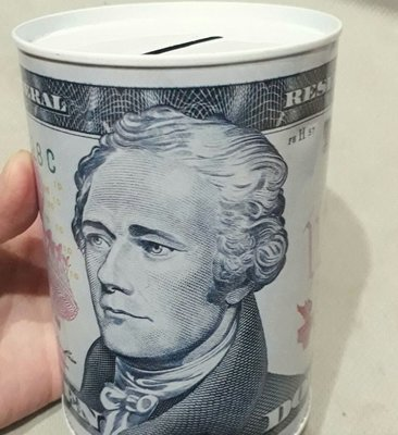 全新美金零錢存錢筒 存錢罐