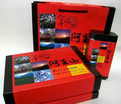 [炒茶天師] {買一盒送一盒}精選高海拔{回甘手採烏龍}茶葉禮盒$1600/盒,雙罐附提袋禮盒~ 甜水,回甘強