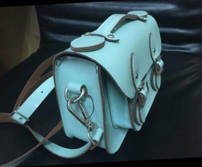 現貨 全新 蒂芬妮綠劍橋包/ 薄荷綠劍橋包9吋 附行李吊牌