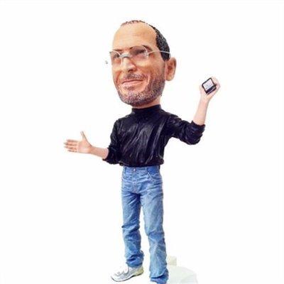 蘋果創辦人賈伯斯公仔(Steve Jobs) 補貨中