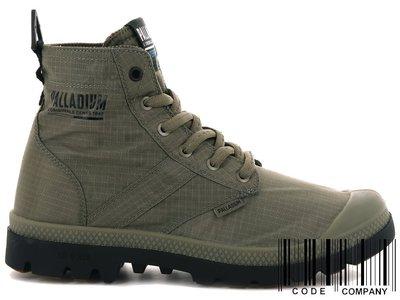 =CodE= PALLADIUM PAMPA LITE+ VAPOR WP+ 防水輕量軍靴(墨綠)76194-377 男