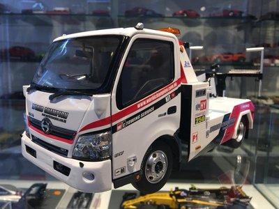 吉華科技@TINY 韋川拖車 HINO 300 WORLD CHAMPION Tow Truck 1/18