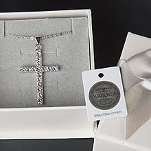 Swarovski 十字架水晶頸鍊