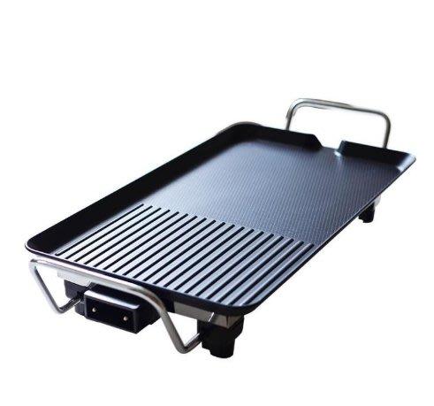 無煙不黏電烤盤110V多功能家用韓式電烤盤肉串燒烤機平板鐵板燒燒烤鍋 免運當天出貨
