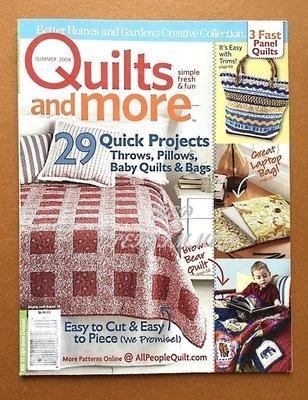 紅柿子【英文彩色版.Quilts and more 2009年拼布作品集 】全新.特售50元.