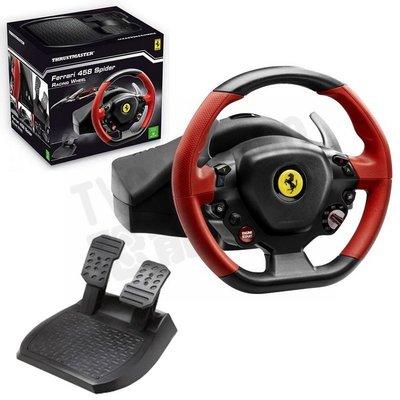 THRUSTMASTER Ferrari 458 Spider 賽車方向盤 XBOXONE PC 公司貨一年保固 免運費