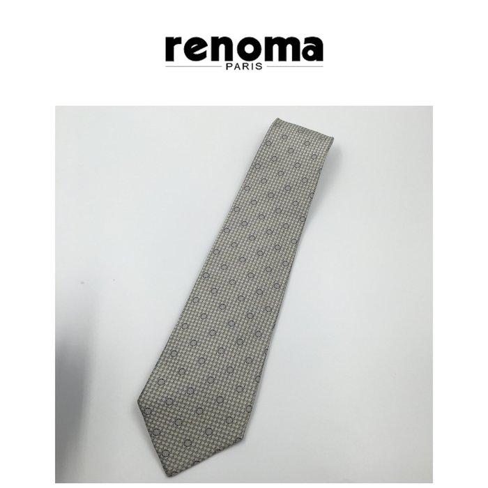 【皮老闆二店】領383 二手正品 RENOMA  手打領帶 日本製