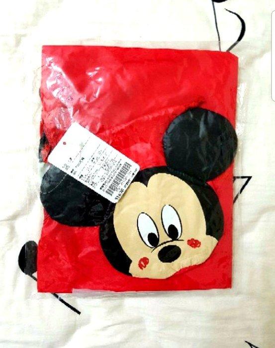 麗嬰房<迪士尼系列>,米奇連帽風衣外套(附米奇大頭收納袋)