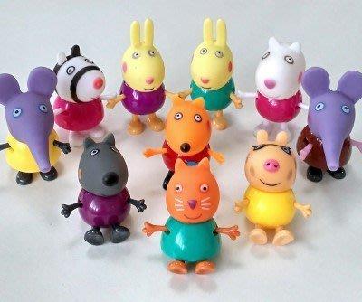 Peppa pig 粉紅豬小妹 兒童快樂遊戲園  佩佩的九位小伙伴 (特價中)
