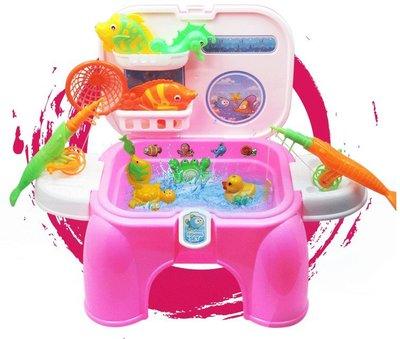 【晴晴百寶盒】兒童釣魚椅收納盒 有趣室內外釣魚椅 益智遊戲 早教玩具 生日禮物 送禮禮品 CP值高 平價促銷 A133