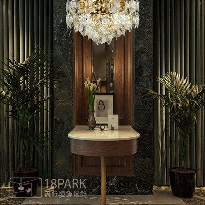 【18Park 】 低調奢華 Drilling ceiling lamp [ 匯鑽光吸頂燈-50cm ]