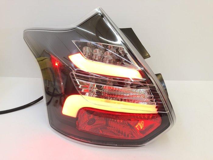 炬霸科技 車燈 FOCUS MK3 尾燈 後燈 LED 跑馬 方向燈 福克斯 11 12 13 14 年 導光 賓士款