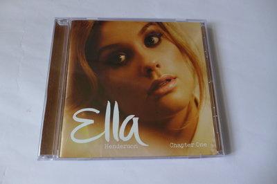 絕版發燒女聲CD Ella Henderson CHAPTER ONE 英國The X Factor第9季.Ghost.yours.empire.類似Adele