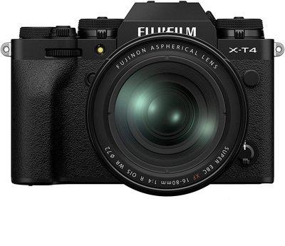 【高雄四海】Fujifilm X-T4 kit (XF16-80mm).全新公司貨.4K錄影 5軸防震 XT4