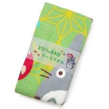日本製 吉卜力 宮崎駿 龍貓 TOTORO 童玩長款 紗布 毛巾