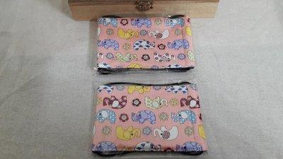 【小茉莉】手作幼童平面口罩 / 台灣棉布手作口罩→花朵小象-粉款