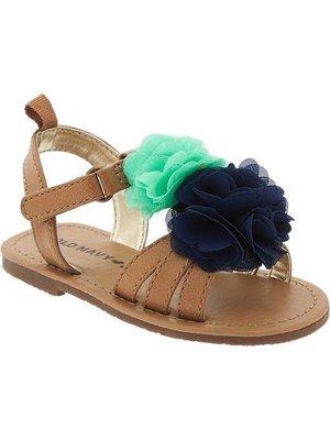 ⭐️芯希亞⭐️Old navy 復古原色花朵涼鞋 US9/10號《現貨》