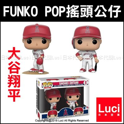 大谷翔平 FUNKO POP 搖頭公仔 MLB Major League Baseball 模型 DX LUC日本代購