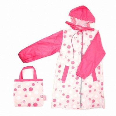 ♀高麗妹♀韓國 Disney MINNIE米妮 兒童雨衣 附收納袋(預購)