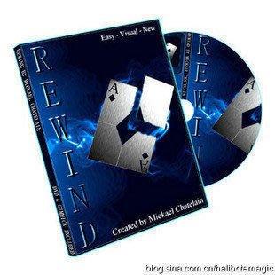【意凡魔術小舖】2010 Rewind by Mickael Chatelain 完美簽名撕牌還原2010年終極撕牌還原術--再生