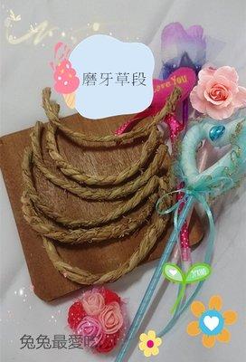 🌟磨牙草段🌟  鼠兔 龍貓 都可食 磨牙玩具 臺灣農作 台灣製作 現貨