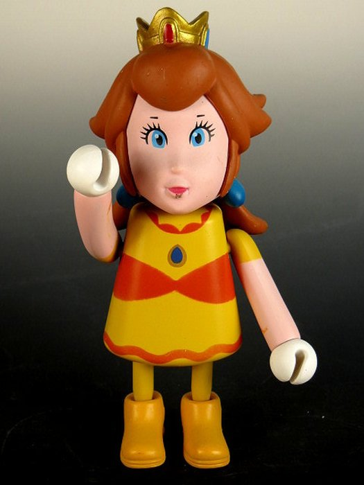 【 金王記拍寶網 】M245  SUPER MARIO 瑪莉歐系列  小木偶 公仔 公主一尊 罕見稀少