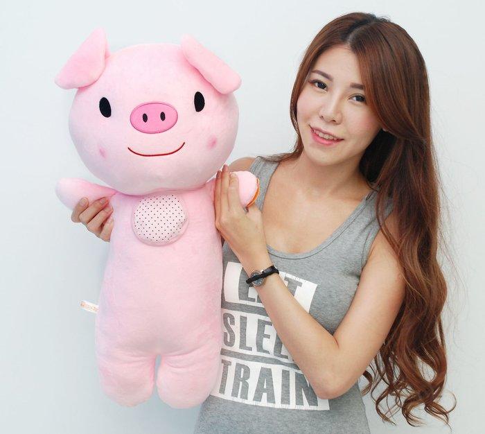 可愛豬娃娃~高65公分~豬玩偶~粉紅豬抱枕~粉紅豬玩偶~生日禮物~全省宅配