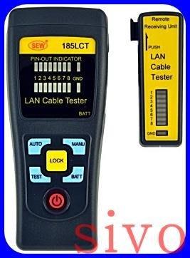 ☆SIVO蘋果商城☆台灣製SEW 185LCT/185 LCT 區域網路檢測器 纜線追蹤器及區域網路檢測儀