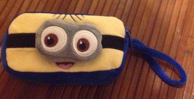 全新小小兵雙眼雙層拉鏈筆袋化妝包
