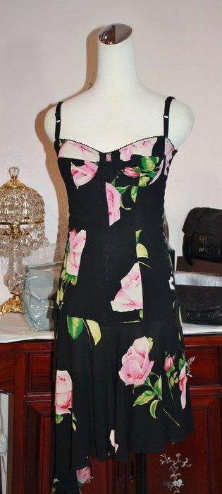 海洋工坊二手名牌旗艦店~Dolce & Gabbana 細帶馬甲洋裝 ~~~~超值商品~~~