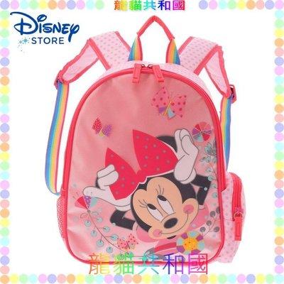 ※龍貓共和國※日本正版迪士尼商店Disney《米老鼠 米妮 幼童兒童減壓後背包 小學生卡通書包 雙肩包》