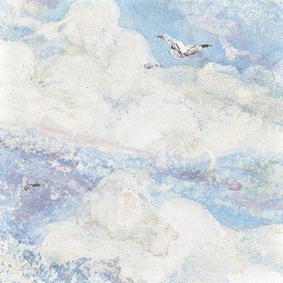 @飛貓小鋪 上品印畫 陽光普照 地中海北歐樣板房臥室風景畫床頭掛畫裝飾畫框