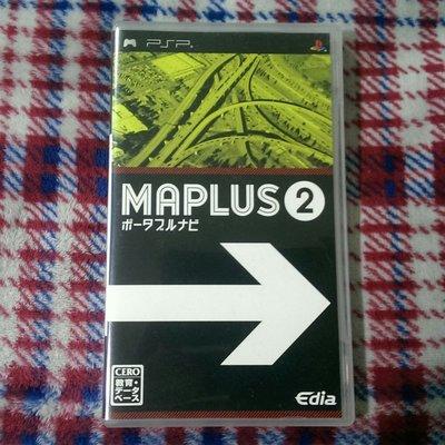PSP MAPLUS 攜帶衛星導航2  純日版(編號93)
