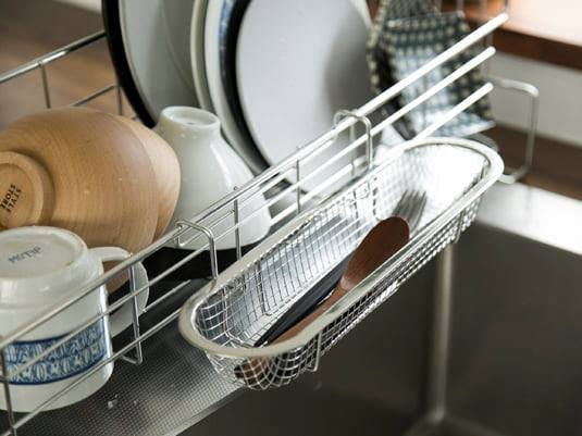 日本製 不銹鋼18-8筷子小物專用瀝水籃