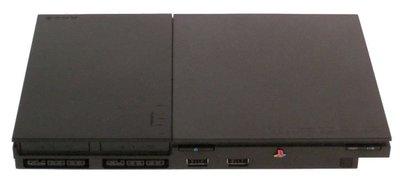 SONY PS2  遊戲主機+手把2支 PlayStation 2 (SCPH-70007)