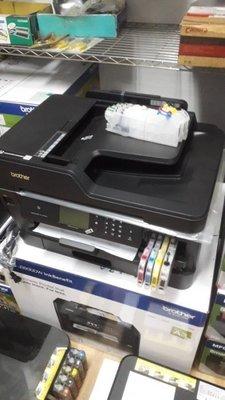 宓宓 Brother MFC- J3930DW A3 複合機 含連續供墨 長匣/T4500DWJ3720DW 維修 解碼