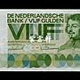 『紫雲軒』(各國紙幣)荷蘭 5盾 1966年 馮德爾 Scg0419