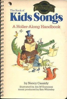 英文童謠 Kids Songs: A Holler-Along Handbook  歌詞+樂譜