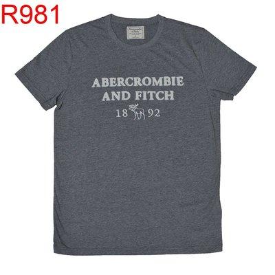 【西寧鹿】AF a&f Abercrombie & Fitch HCO  T-SHIRT 絕對真貨 可面交 R981