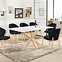 北欧现代loft餐桌椅组合桌餐桌家用咖啡桌子...