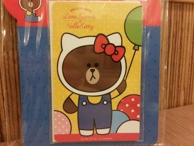 熊大悠遊卡Line Friends Hello Kitty可以在7-11全家OK萊爾富便利店用,捷運MTR,公車,火車用 功能與香港八達通一樣