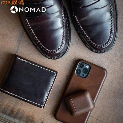 CUP·數碼 美國 NOMAD   iPhone12 Mini /Pro Max 手機保護套 HORWEEN牛皮