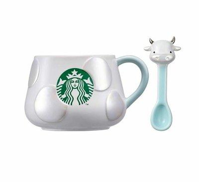 全新現貨🇰🇷2021韓國星巴克牛湯匙馬克杯355ml 星巴克牛年馬克杯 星巴克生肖馬克杯 Starbucks生肖