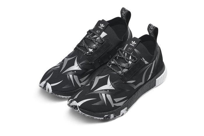 現貨 JUICE x adidas Consortium NMD Racer 黑 荊棘 US8.5 9.5 US10.5