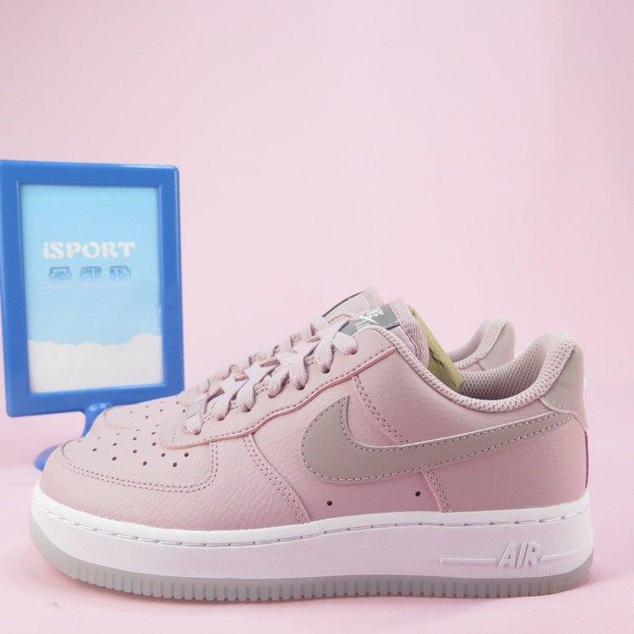 【iSport愛運動】 NIKE WMNS AIR FORCE 1 07 ESS 休閒鞋 AO2132500 女款 藕粉