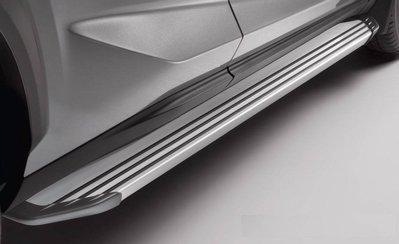 車庫小舖 北美 LEXUS 原廠 NX200T NX300H 車側踏板 側踏板 鋁合金一體式