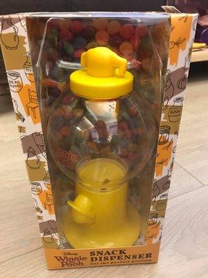 ☆Joan☆日本帶回 迪士尼 小熊維尼 扭蛋機造型 糖果罐 三眼怪 米奇 POOh