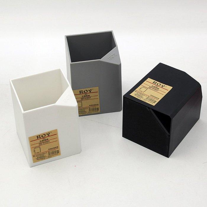 MY#爆款#2個裝-簡約無印筆筒黑白灰多功能個性簡潔收納創意時尚學生辦公復古桌面#筆筒#桌面收納